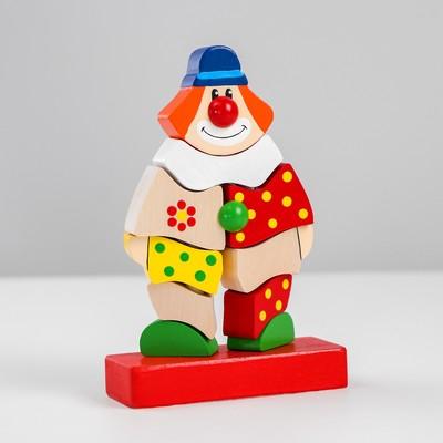 Пирамидка «Клоун Клёпа» - Фото 1