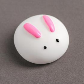 Мялка-антистресс «Зайчик», цвет белый Ош