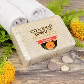 Соляной брикет с алтайскими травами 'Календула' 1,35 кг Ош