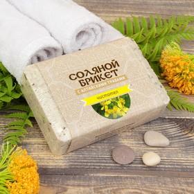 Соляной брикет с алтайскими травами 'Чистотел' 1,35 кг Ош