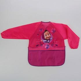 Фартук-накидка с рукавами для труда «Маша и Медведь» 500х390 мм Ош