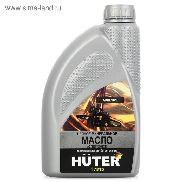 Масло цепное Huter 73/8/2/1, 80W90, минеральное, 1 л