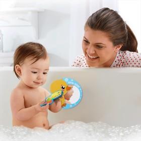Зеркало мягкое для игры в ванной «Утёнок Кря»