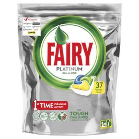 Капсулы для посудомоечной машины Fairy «Лимон», 37 шт.