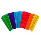 Счётные палочки большие цветные, набор 50 шт., длина палочки: 15 см