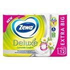 Туалетная бумага Zewa Deluxe Camomile Comfort, 3 слоя, 12 шт.