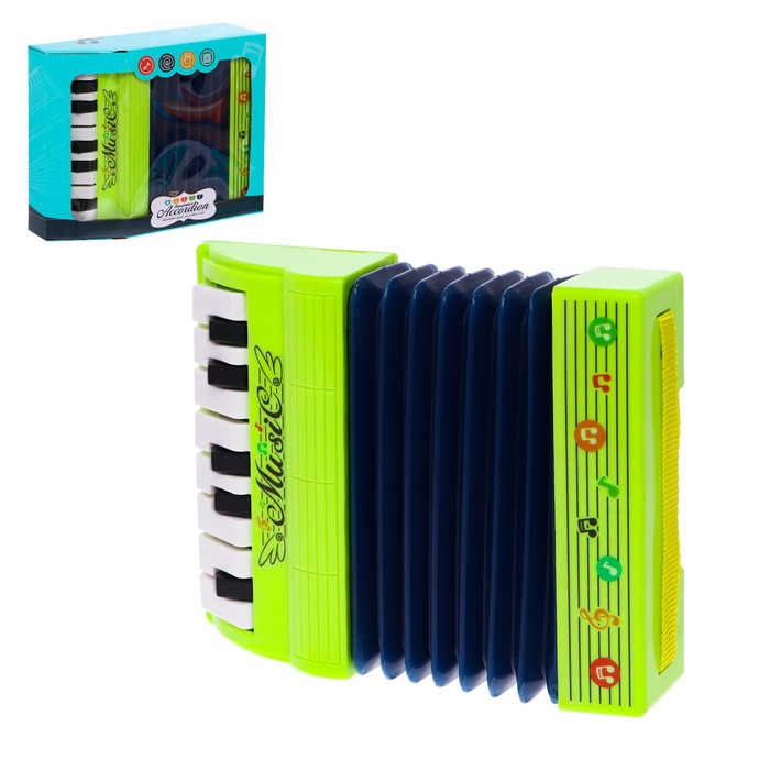 Музыкальная игрушка Музыкальный взрыв, гармонь, МИКС
