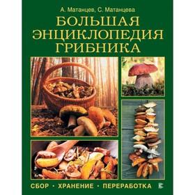 Большая энциклопедия грибника: сбор, хранение, переработка Ош