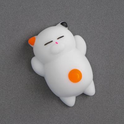 Мялка-антистресс «Кошечка», цвет белый