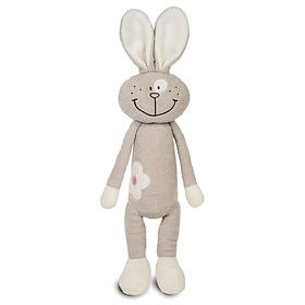 Мягкая игрушка «Зайка с цветочком», 33 см