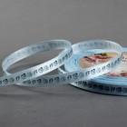 Лента атласная «Ракушки», 6 мм ? 23 ± 1 м, цвет синий/голубой №103