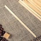 Палочка размешиватель деревянная, 140х6х1,3 мм