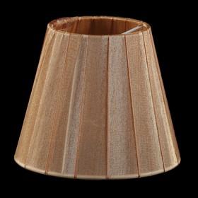 Абажур SS03 Е14 коричневый 10x15x13см