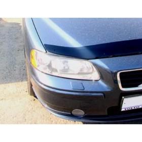 Дефлектор капота темный VOLVO S60 2006-2009,