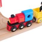 Железная дорога, 80 деталей - Фото 3