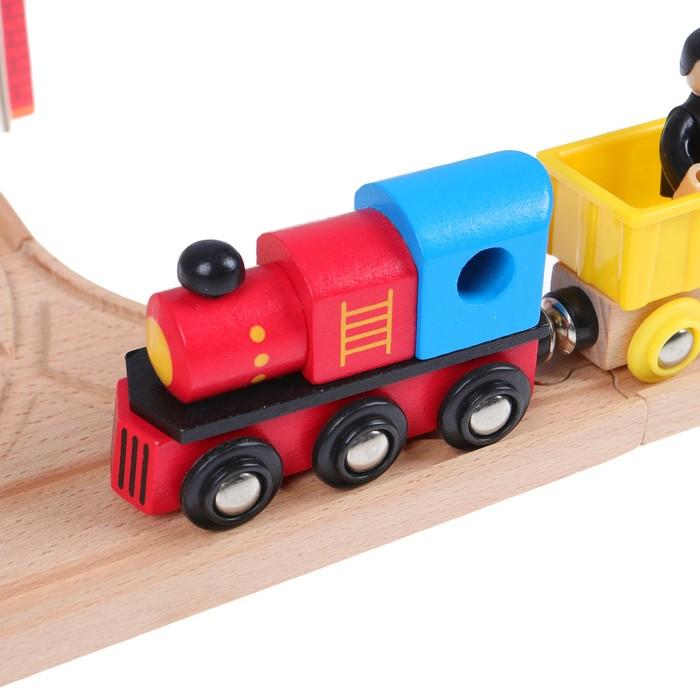 Железная дорога, 80 деталей