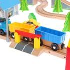 Железная дорога, 80 деталей - Фото 5