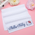 Полотенце детское Hello Kitty 35х70 см, цвет белый 100% хлопок, 400 г/м?