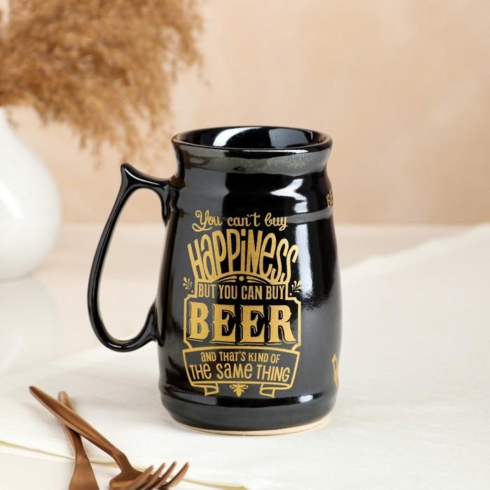 """Бокал """"Beer"""", пузатый, 0.6 л, микс"""