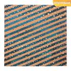 Бумага для скрапбукинга крафтовая с фольгированием «Северное сияние», 20 × 20 см, 250 г/кв. м