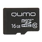 Карта памяти Qumo microSD, 16 Гб, SDHC, класс 10