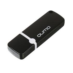 Флешка Qumo Optiva 02, 32 Гб, USB2.0, чт до 25 Мб/с, зап до 15 Мб/с, черная