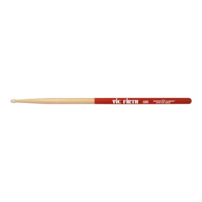 Барабанные палочки VIC FIRTH 5ANVG 5A с антискользящим покрытием, гикори Hickory