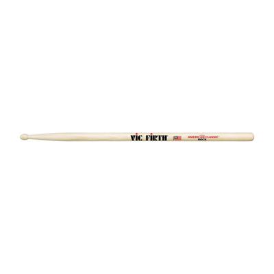 Барабанные палочки VIC FIRTH ROCK тип ROCK с деревянным наконечником, гикори