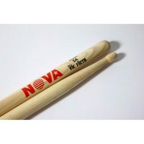 Барабанные палочки VIC FIRTH N5A 5A с деревянным наконечником, орех