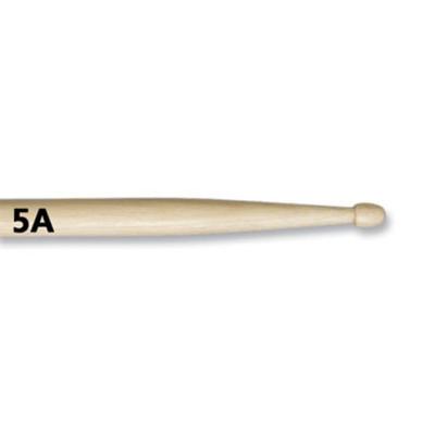 Барабанные палочки VIC FIRTH NM5A 5A с деревянным наконечником, клен - Фото 1