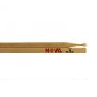 Барабанные палочки VIC FIRTH N5BN тип 5B с нейлоновым наконечником, орех