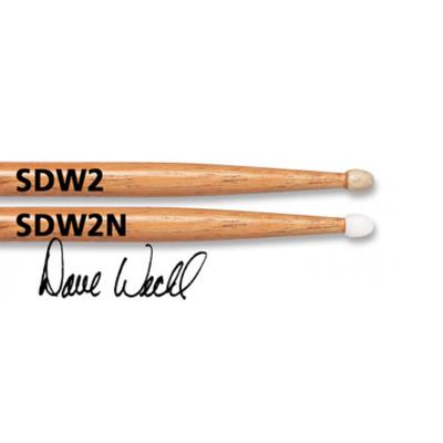 Барабанный палочки VIC FIRTH SDW2N Dave Weckl, гикори
