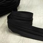 Молния рулонная «Спираль», №5, 200 м, цвет чёрный