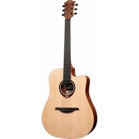 Акустическая гитара LAG GLA T70DC  с вырезом Дредноут