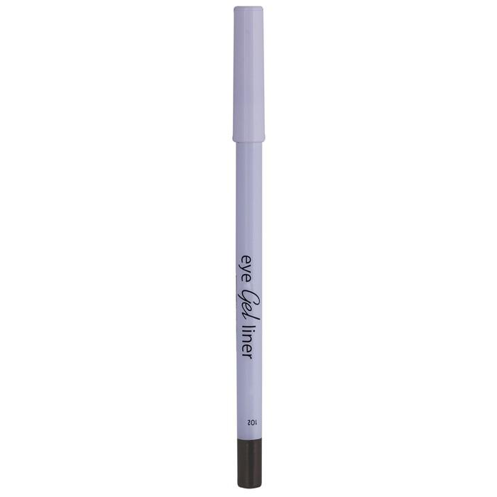Карандаш для глаз Lamel Professional, гелевый, тон 102, коричневый