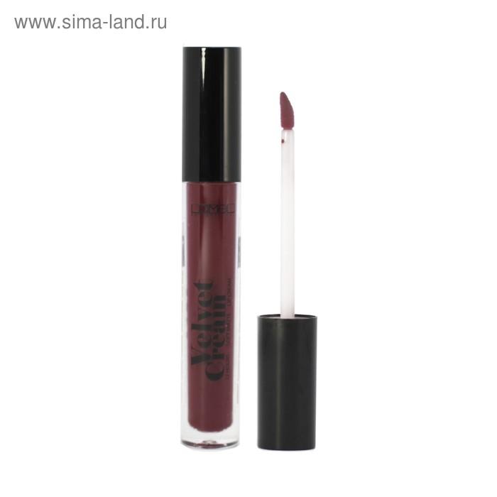 Стойкий матовый блеск для губ Lamel Velvet Cream 09