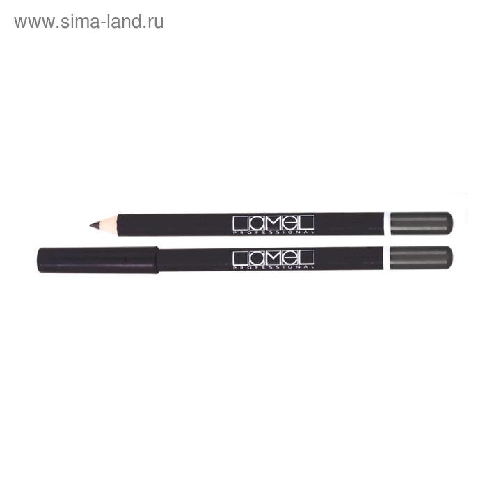 Карандаш для глаз Lamel Professional, тон 102, графитовый