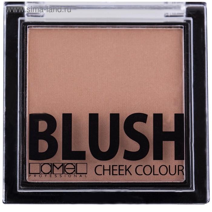 Румяна для лица Lamel professional Blush cheek colour, тон 01, тёмно-бежевый