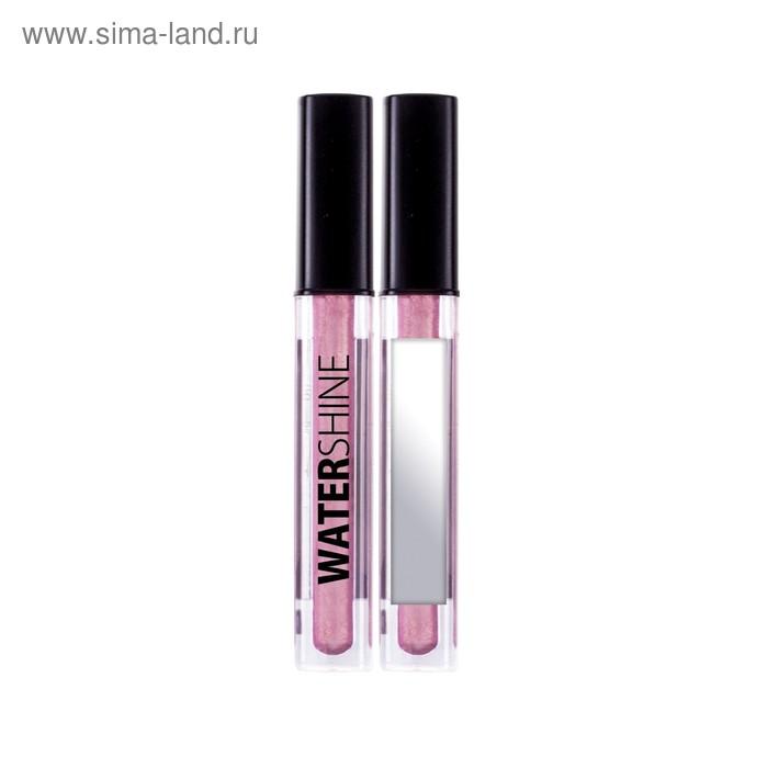 Блеск для губ Lamel Water Shine, эффект влажных губ, тон 04, розовый