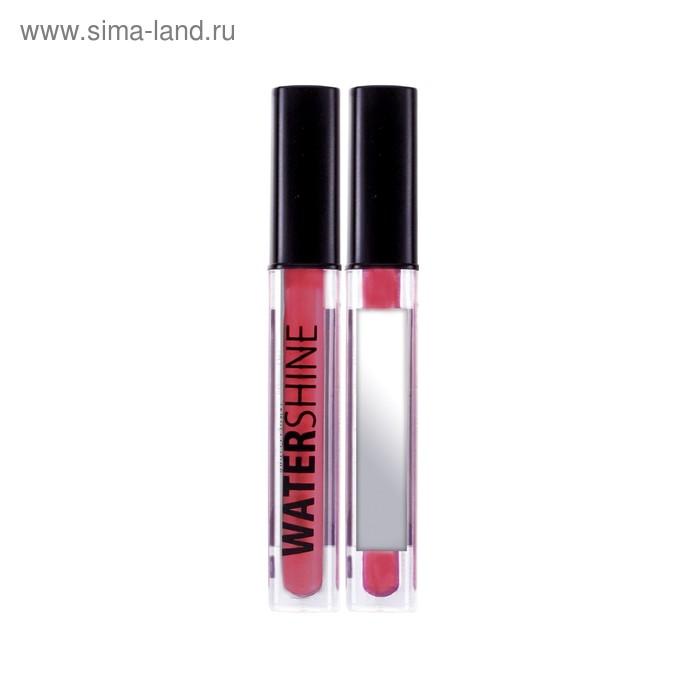Блеск для губ Lamel Water Shine, эффект влажных губ, тон 06, красный