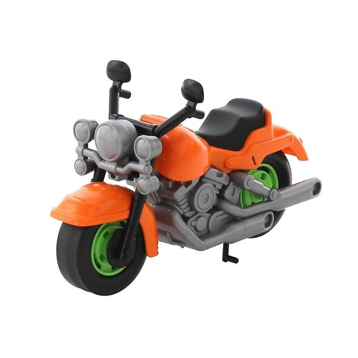"""Мотоцикл гоночный """"Кросс"""" цвета МИКС"""