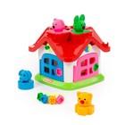 Развивающая игрушка «Логический теремок»