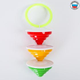 Погремушка «Юла», цвета МИКС Ош
