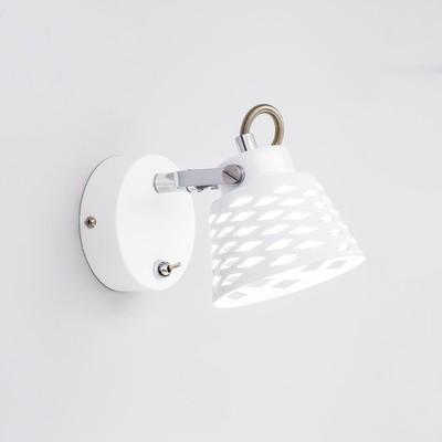 """Светильник """"Техно"""" 1x5Вт LED белый 11x17x14см"""