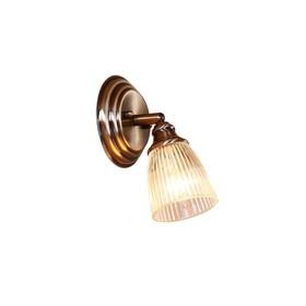 """Светильник """"Веймар"""" 1x60Вт E14 бронза 14x12,5x22см"""