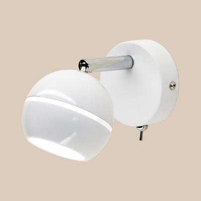 """Светильник """"Дюрен"""" 1x5Вт LED белый 13,5x11,5x10см - Фото 1"""