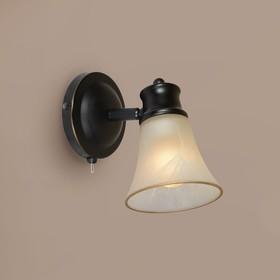 """Светильник """"Дубль-1"""" 1x60Вт E14 коричневый 21,5x12x12см"""