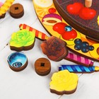 Развивающая игра «Торт» 54 элемента, 5 слоёв - Фото 4