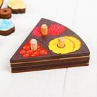 Развивающая игра «Торт» 54 элемента, 5 слоёв - Фото 7