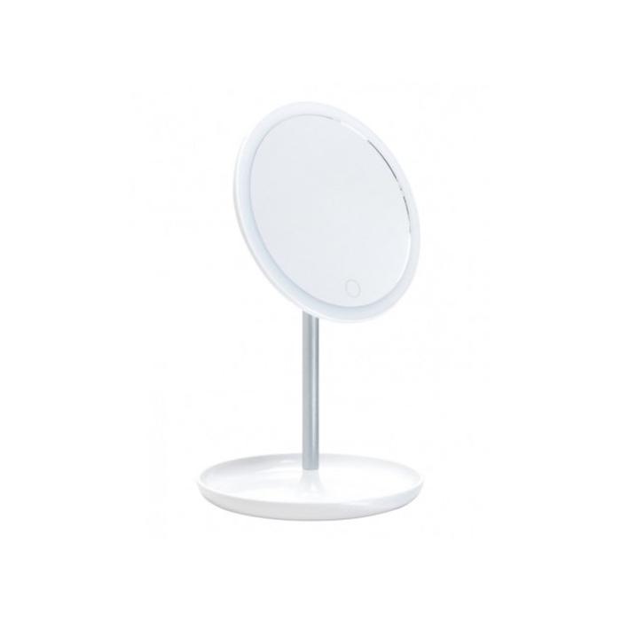 Зеркало Gezatone LM207, подсветка, 35 × 18 × 4,5 см, АКБ, USB